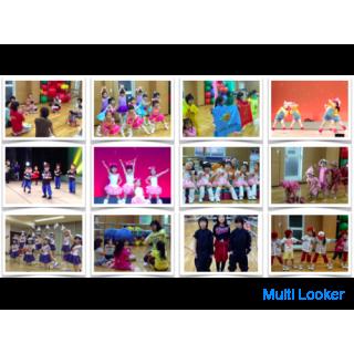 【幼児クラス・ダンス体験レッスン 案内】キッズガーデン武蔵小杉教室 子どもフィットネス・ダンス