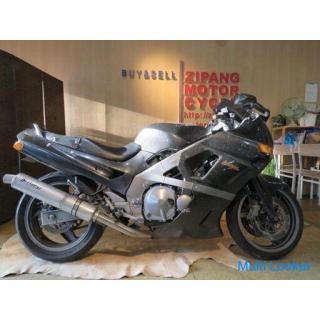 KAWASAKI ZZR400 ZX400K カワサキ 400cc 48660km ガンメタ エンジン実動! パーツ取り 部品取り車 ベース車 バイク