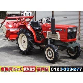 ヤンマ トラクター YM1802D 18馬力 4WD 耕運幅1300 尾輪【清掃・簡易整備済】 【農機具でっく】【福岡】【トラクター】