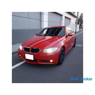 BMW320Mスポーツ H21 車検4/6 走行63000k 社外ナビTV 専用エアロ&ブラック18AW コンフォートアクセス ミラー内蔵ETC