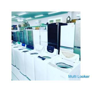 出張買取、査定します 特に冷蔵庫、洗濯機、テレビ、家具家電