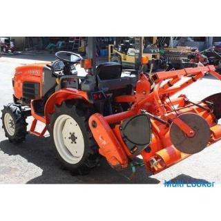 クボタ トラクター キングブル KB165 16.5馬力 パワステ 4WD 倍速 【農機具でっく】