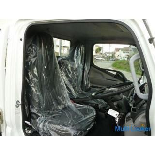 R02 キャンター 2トン平 全低床 登録済み未使用車 衝突被害軽減ブレーキ 車両安定制御装置 横滑り防止装置 キーレス R3年自動車税込み