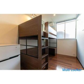 【新規オープン!!】新築2階建て一軒家の女性専用シェアハウス!(203号室)