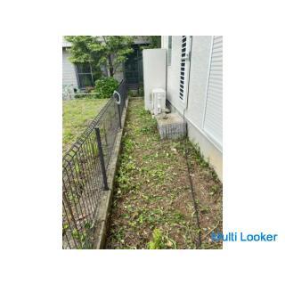 ハウスクリーニング、エアコンクリーニング、草刈り、剪定、掃除全般
