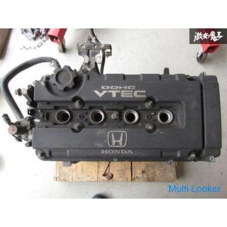 ホンダ 純正 EG6 シビック SiR-ⅡB16A エンジン 本体 黒ヘッド