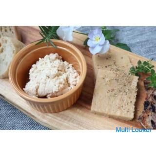 持続可能なヘルシー食 ~2種類のヴィーガンチーズ作り~ 7月