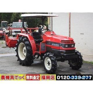 三菱 トラクタ MT311 31馬力 パワステ 自動水平 逆転 スーパーヒッチ【農機具でっく】【トラクター】