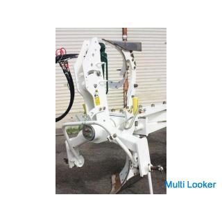 スガノ リバーシブルプラウ RQY124 4連 トラクター用 外部油圧式 説明書 トップリンク