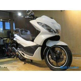 ホンダ HONDA PCX125 JF56 1468km 低走行! エンジン快調! エアロカスタム フルカスタム 原付 二種 バイク