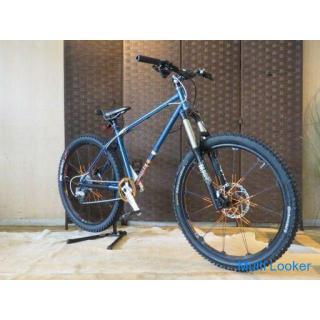 希少 CHARGE DUSTER チャージ ダスター 18速 26インチ ブルーメタリック クロモリ MAGURA MT140AM MTB マウンテンバイク 自転車
