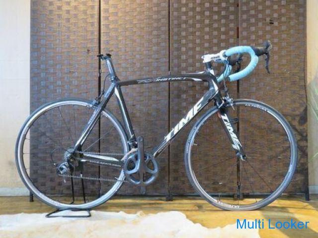 TIME RX INSTINCT タイム RXインスティンクト 2012年 ブラック 18速 カーボン 現状販売 ロードバイク 自転車