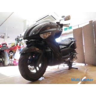 ヤマハ マジェスティ 250 JBK-SG20J ブラック 走行距離25060kmkm 250cc 社外マフラー 実動! ビッグスクーター