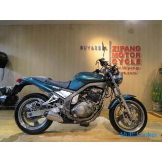 YAMAHA SRX400 3VN ヤマハ 400cc 51545km グリーン ブレンボブレーキ 1992年式 実動! バイク 札幌発