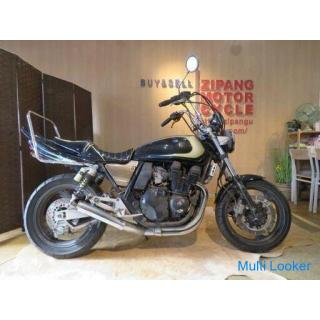 YAMAHA XJR 400 4HM ヤマハ 400cc 19848km ブラックメタリック 1993年 実動! バイク ネイキッド 札幌発