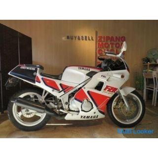YAMAHA FZR250 2KR ヤマハ 250cc 19314km ホワイト 実動! レーサーレプリカ 自賠R4.6 バイク 札幌発