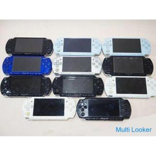 【苫小牧バナナ】ジャンク!!!SONY/ソニー PSP2000 プレイステーションポータブル 11台セット 現状渡し 部品取りに♪