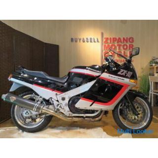 KAWASAKI ZX-10 ZXT00B カワサキ ブラック 1000cc 37231km 1988年式 実動 バイク