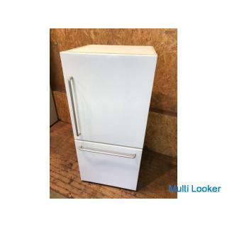 【保証有・清掃済】無印良品 2017年 MJ-R16A 157L 2ドア 冷凍冷蔵庫