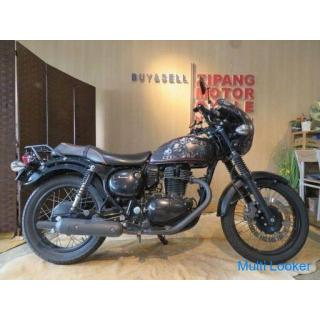 KAWASAKI ESTRELLA JBK-BJ250A カワサキ エストレア インジェクション 250cc 17879km ブラック 自賠R4.4 実動!