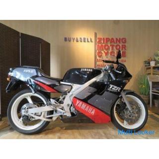 お宝! 極上! 旧車! 早い者勝ち! YAMAHA TZR250 3MA ヤマハ 250cc レーサーレプリカ 14794km 後方排気 ブラック 自賠R8.7 実動! 2st 希少 バイク サンマ
