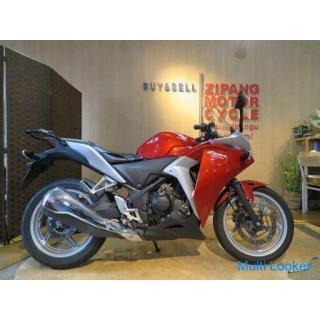 HONDA CBR250R JBK-MC41 ホンダ 250cc 11517km レッド 実動! バイク 札幌発