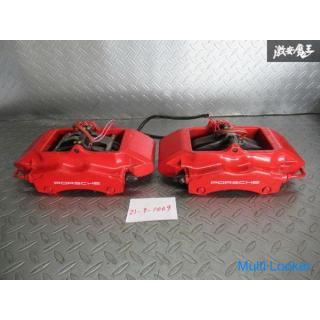 brembo ブレンボ ポルシェ純正 911 996 後期? リア 4POT ブレーキキャリパー 左右セット