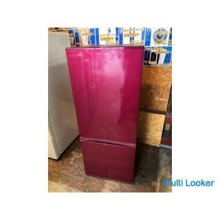 【動作保証60日間あり】AQUA 2015年 AQR-18D 184L 2ドア冷凍冷蔵庫