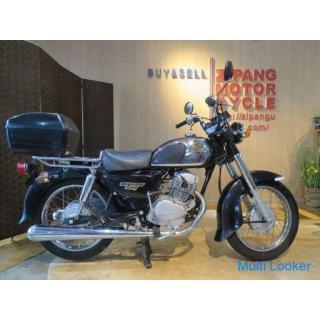 HONDA CB125T CD125T ホンダ 125cc 19275km ベンリィ ベンリー ブラック 実動! 美車 ミニバイク バイク 札幌発