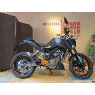 KTM DUKE125 ケーティーエム デューク125 125cc 11951km ブラック 原付 原チャリ バイク 札幌