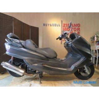 YAMAHA MAJESTY BA-SG63J ヤマハ マジェスティ 250cc 黒 18209km エンジン実動! 現状販売 部品取り パーツ取り ベース車 バイク