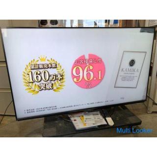 【動作保証あり】SHARP AQUOS 2019年 4T-C60AM1 4K対応 60V型 液晶テレビ