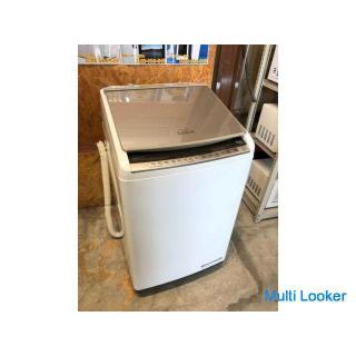 【動作保証あり】HITACHI 日立 2019年 BW-DV100E 10.0kg / 5.5kg 洗濯乾燥機