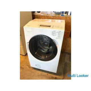 【動作保証60日間あり】TOSHIBA 2021年 TW-117V9L 11.0kg / 7kg ドラム式洗濯乾燥機 ウルトラファインバブルW搭載