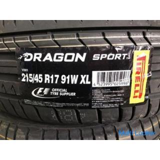 215/45R17 ピレリ 新品タイヤ4本セット 工賃込み プリウスなどに
