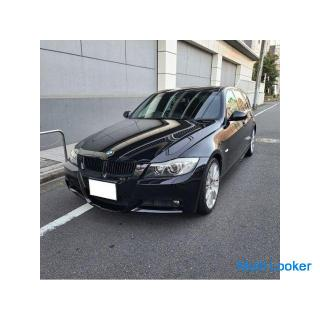 BMW325ツーリングMスポーツ サンルーフ 純正HDDナビ 純正エアロ&専用シート&オプション18AW キセノン 禁煙車